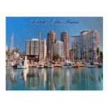 Honolulu Scenes Postcard