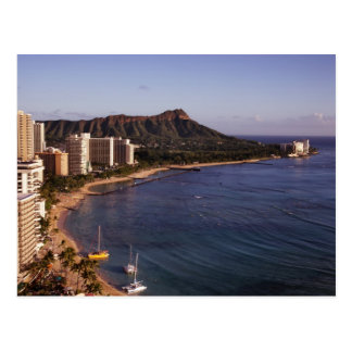 Honolulu Skyline Postcard