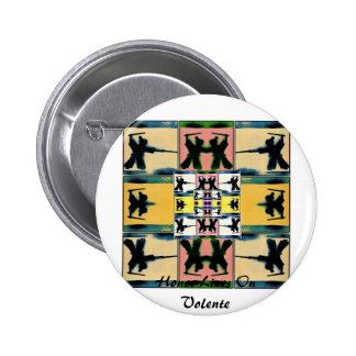 Honor Lives On Warhol Samurai by Volente Pinback Button