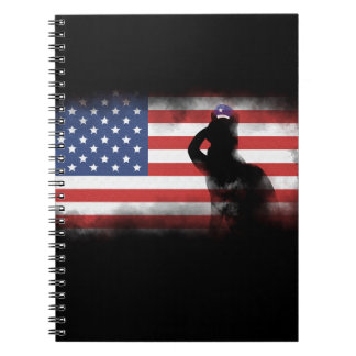 Honor Our Heroes On Memorial Day Notebook