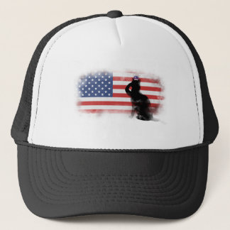 Honor Our Heroes On Memorial Day Trucker Hat
