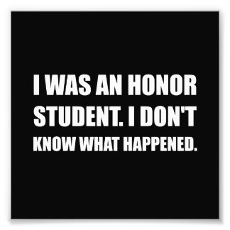 Honor Student What Happened Photo