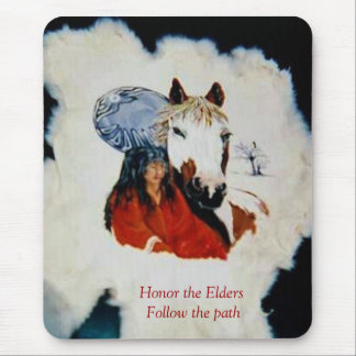Honor the Elders Mouse Pad