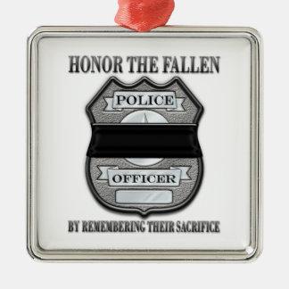 Honor The Fallen2 Metal Ornament
