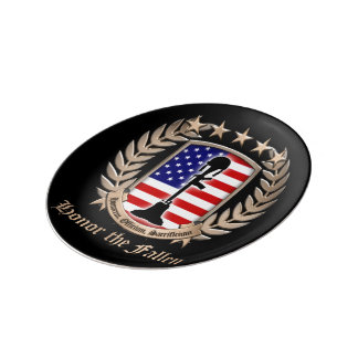 Honor The Fallen - Crest Plate
