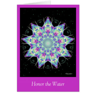 Honor the Water Card