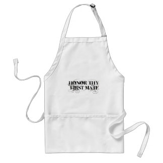 Honor Thy First Mate Aprons