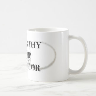 Honor Thy Stamp Collector Coffee Mugs