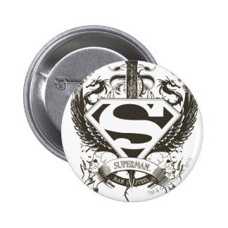 Honor, Truth on White 6 Cm Round Badge
