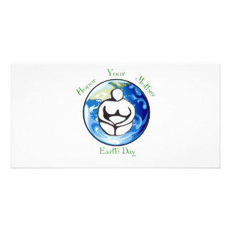 Honor your mother Earth Day Custom Photo Card