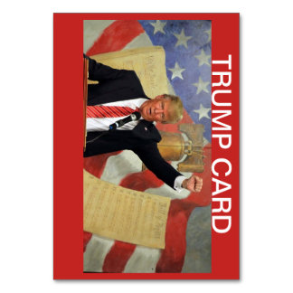 Honorable President Trump's 1st 6 months Card