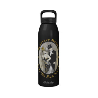 Honorary Member Dirty Old Man Society Water Bottle