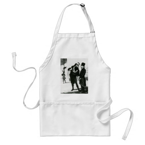 Honore Daumier: Robert Macaire Business Men Aprons