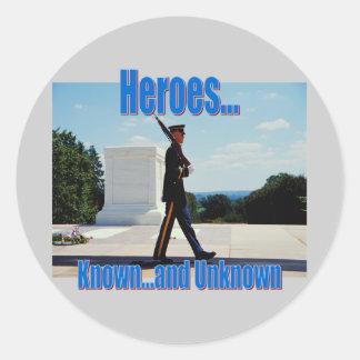 Honoring Heroes Sticker