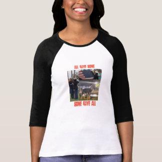 Honoring the real hero..the veteran T-Shirt