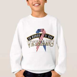 Honoring Veterans Logo Ribbon Sweatshirt
