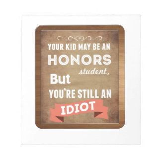 Honors Student Notepads