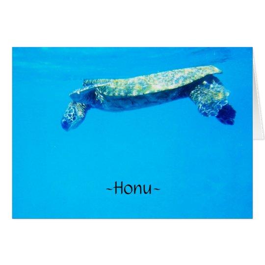 Honu Card