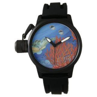 Honu (Green Sea Turtle) and Black Coral Watch