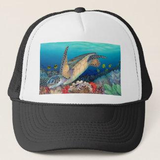 Honu (Green Sea Turtle) Trucker Hat