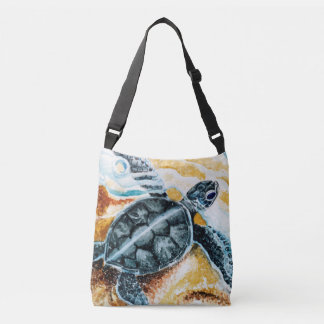 Honu Hatchling (Green Sea Turtle) Crossbody Bag