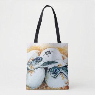 Honu Hatchlings Tote Bag