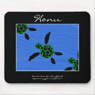Honu Hawaiian Seaturtle Mousepad