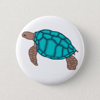 Honu Pride sea turtle  button