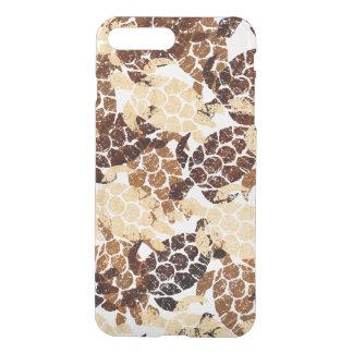 Honu Sea Turtle Hawaiian Aloha  - Faux Wood iPhone 8 Plus/7 Plus Case