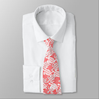 Honu Sea Turtle Hawaiian Aloha - Guava Tie