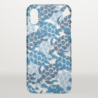 Honu Sea Turtle Hawaiian Aloha - Indigo iPhone X Case