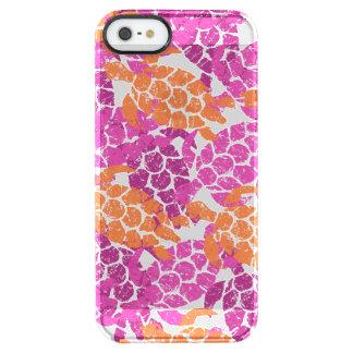 Honu Sea Turtle Hawaiian Aloha - Pink Clear iPhone SE/5/5s Case