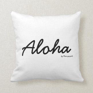 Honu Seal Aloha Throw Pillow