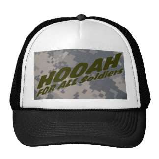 Hooah for all Soldiers Mesh Hats
