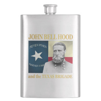 Hood and the Texas Brigade Hip Flask