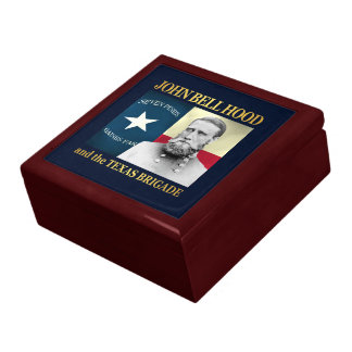 Hood and the Texas Brigade Large Square Gift Box