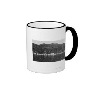 Hood Canal, WA View and Beacon Point Resort Coffee Mugs