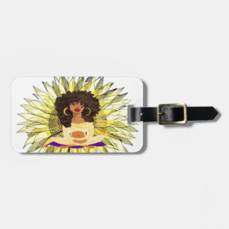 Hood Hippie Luggage Tag