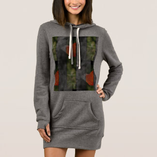 hood Poppy Dress-sweater Dress