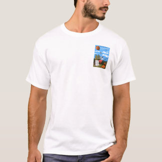 Hood River Valley Harvest Fest Henley T-Shirt