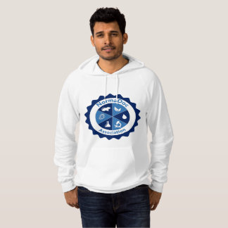 Hood sweater - Blue NormaDoc Logo