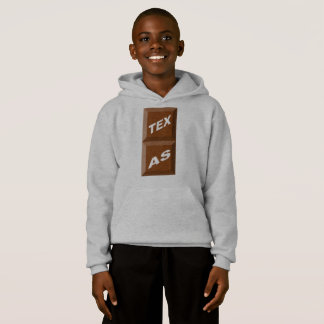 HOOD SWEATER HANES TEXAS CHOCOLATE