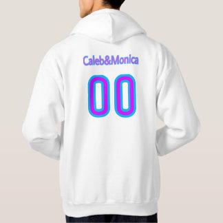 Hood with Caleb & monicas YouTube channel logo Hoodie