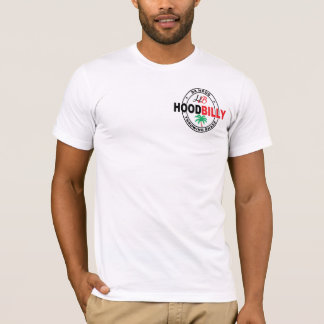 Hoodbilly Patch Logo Da Hood Throwing Shade #1 T-Shirt