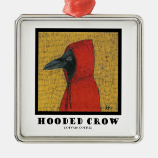 Hooded Crow Ornament