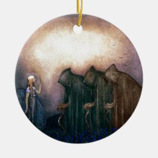 Hooded Figures Christmas Tree Ornament