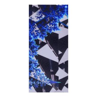 Hooded Fractals Customised Rack Card