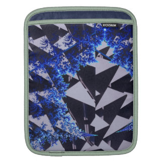 Hooded Fractals Sleeves For iPads