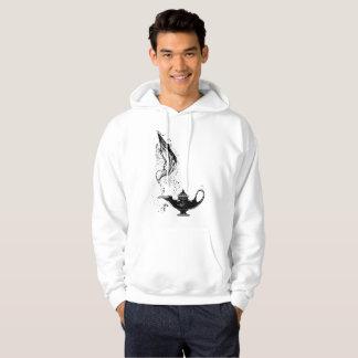 Hooded Sweatshirt for Men with Aladdin Magic Lamp