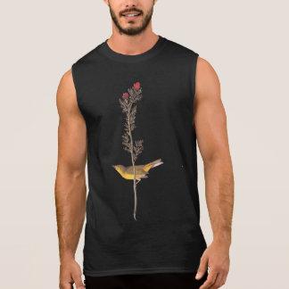 Hooded Warbler Bird Sleeveless T-shirts